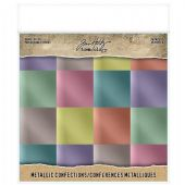 TIM HOLTZ® IDEA-OLOGY™ - Paper Stash Kraft Metallic Paper - Confections - TH93784